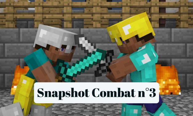 Une troisième snapshot «Combat» disponible