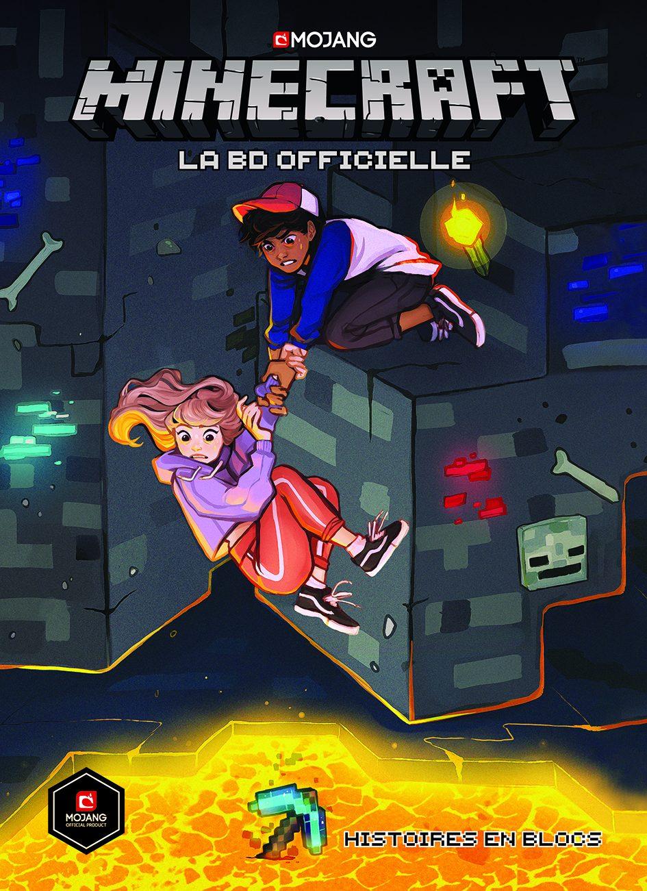 """LA BD Officielle Minecraft """"Histoires en bloc"""""""