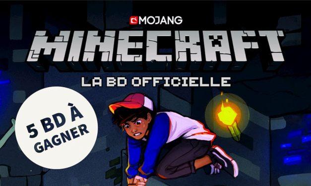 5 BD Minecraft Officielles «Anthologie» à gagner