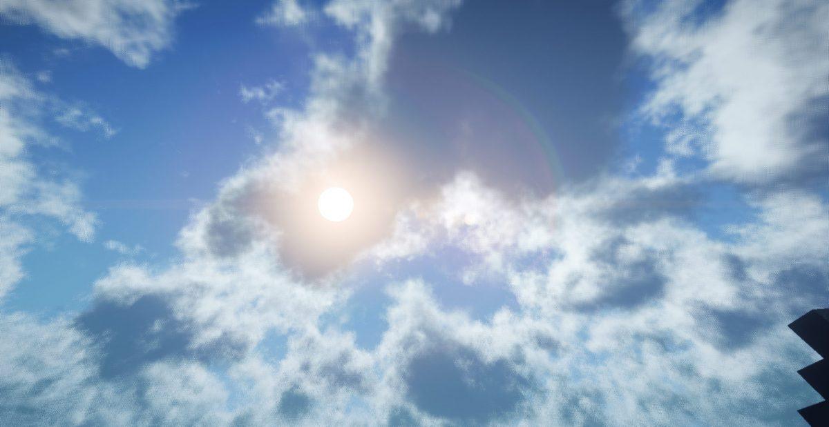 Exposa Unique Shaders - EUS : ciel et nuage