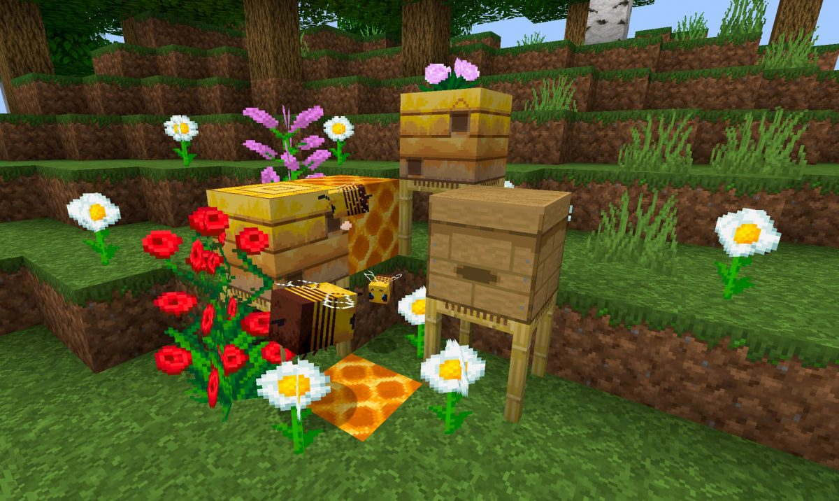 Faithful Minecraft Abeille 1.15