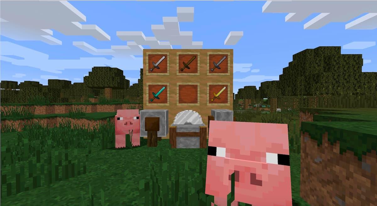 Faithful Minecraft : des cochons et des armes