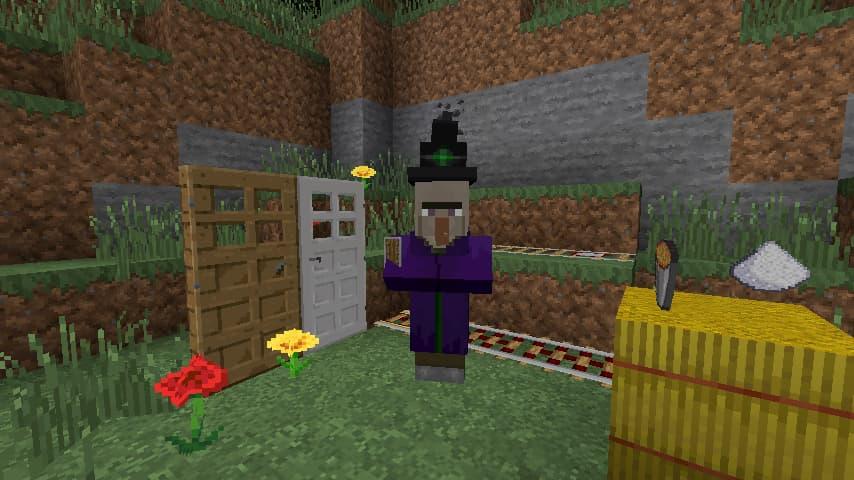 Faithful Minecraft : une sorcière