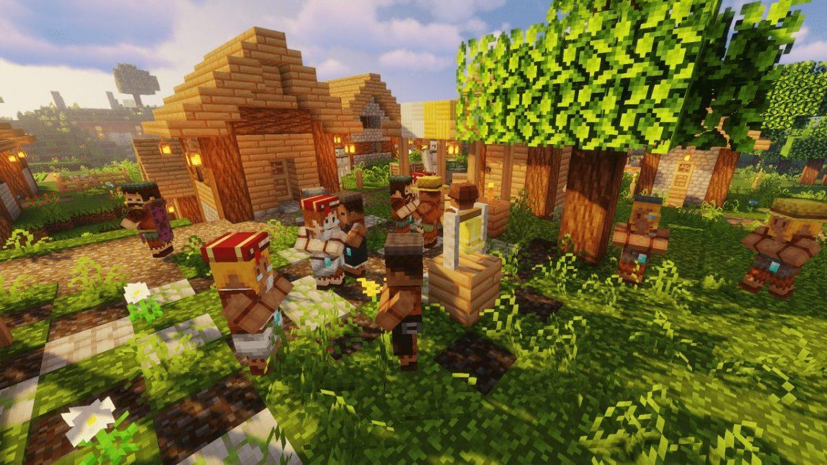 Jehkoba's Fantasy : village et villageois