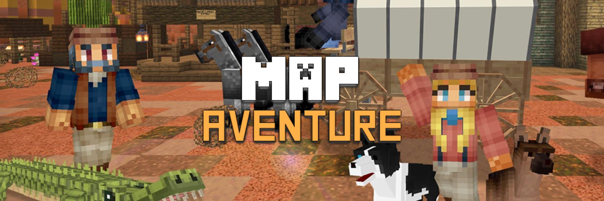 map aventure minecraft