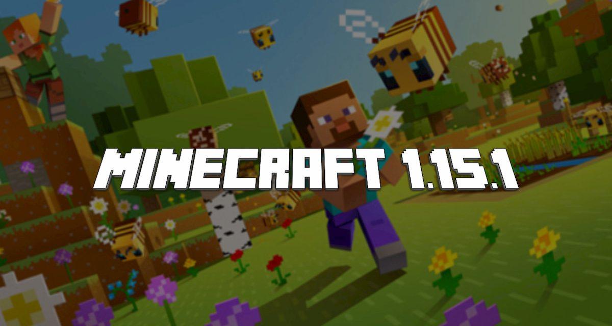 Mise à jour : Minecraft 1.15.1