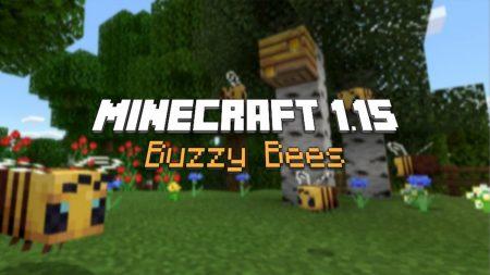 "Mise à jour : Minecraft 1.15 ""Buzzy Bees"""