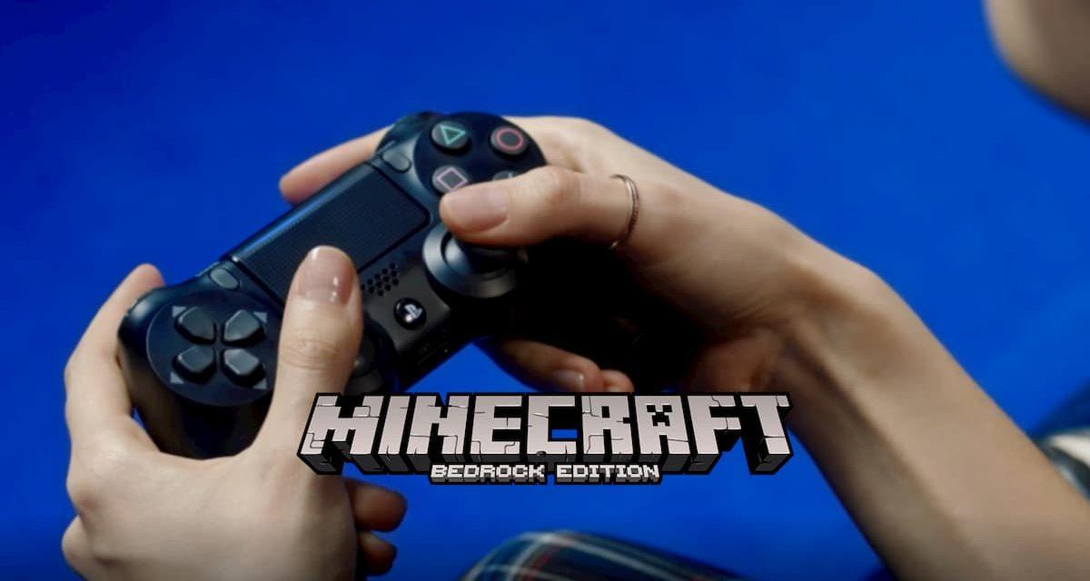 Minecraft Bedrock Edition arrive sur PS4