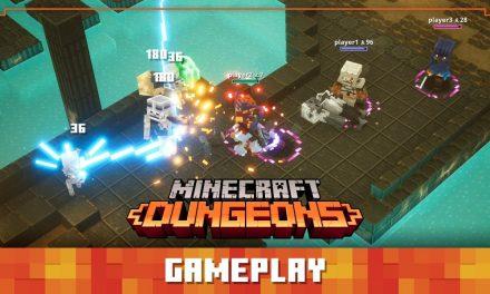 Minecraft Dungeons Diaries : Gameplay