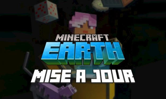 Minecraft Earth : Mise à jour R8