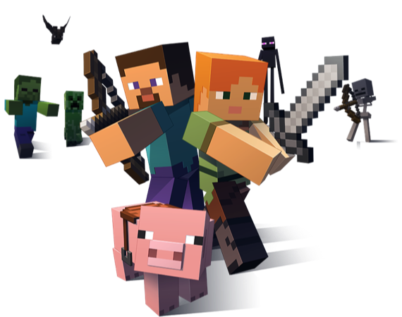 Minecraft combat joueurs