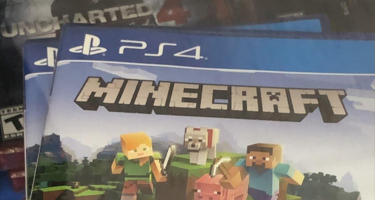 Un leak de Minecraft Bedrock Edition sur PS4 ?