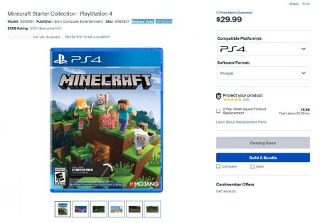Minecraft PS4 Best Buy