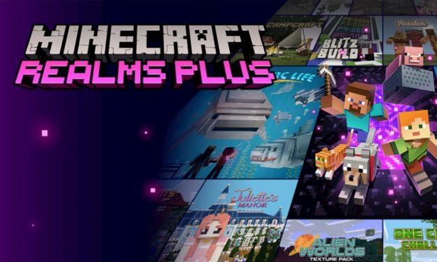 Realms Plus débarque pour la version Bedrock de Minecraft