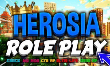 HEROSIA – Présentation Serveur Minecraft Altis Life !