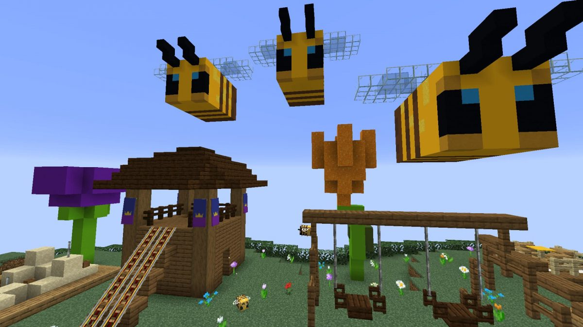 Honey Jump Map Minecraft : le lobby
