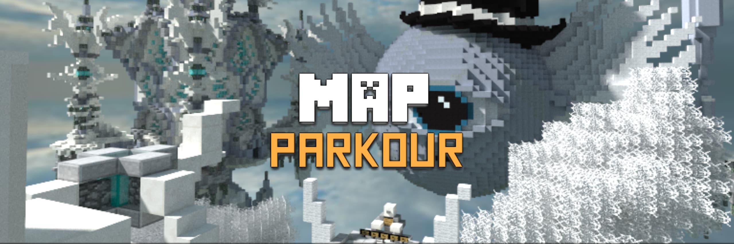 map parkour minecraft