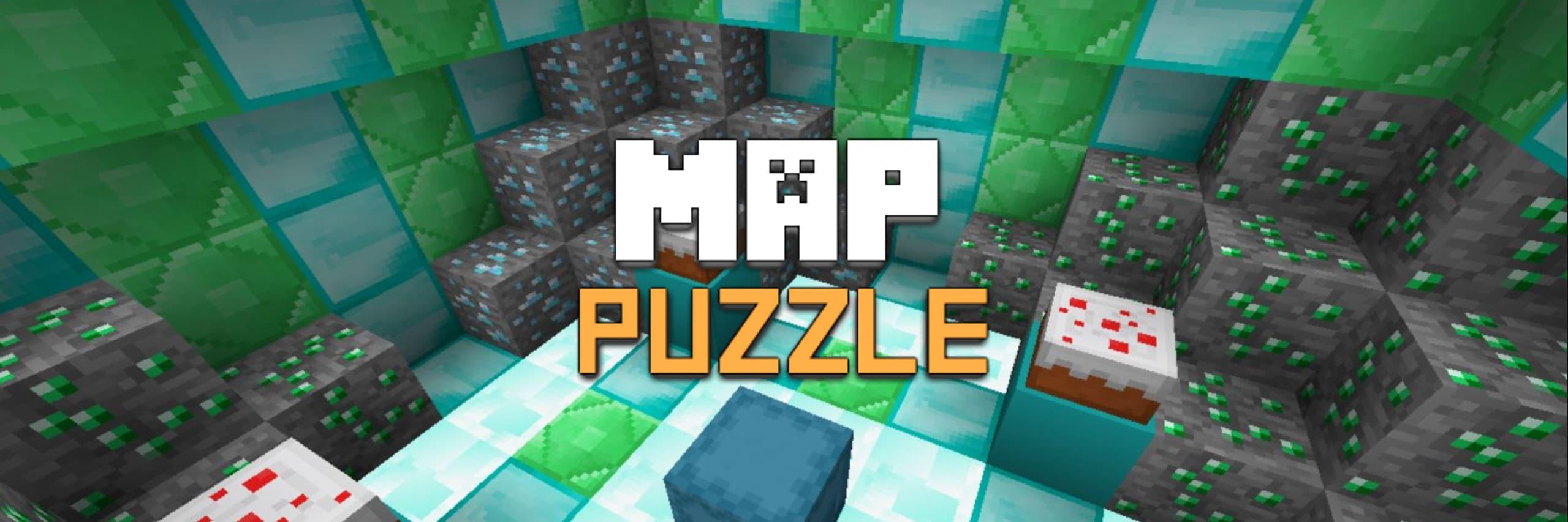 map minecraft puzzle enigme