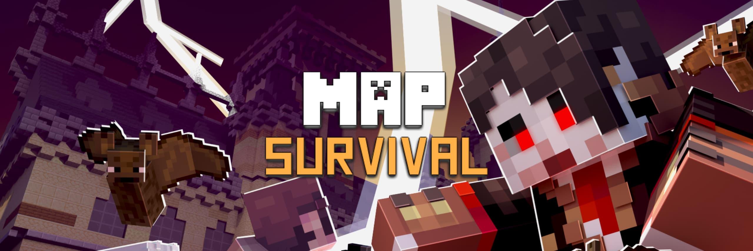 map minecraft survie
