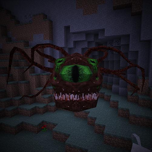 Beholder créature aberrante Lycanites Mobs