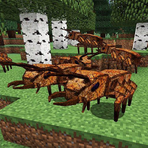 Calpods créature Lycanites Mobs