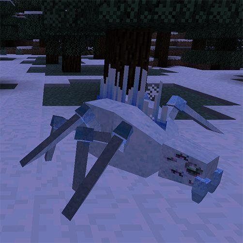 Frostweavers créature Lycanites Mobs