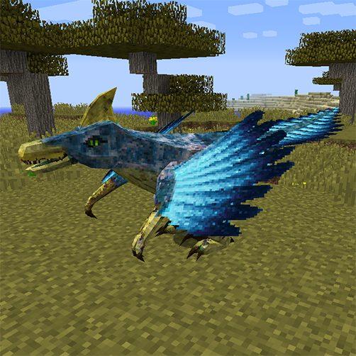 Ventoraptors créature aviaires Lycanites Mobs