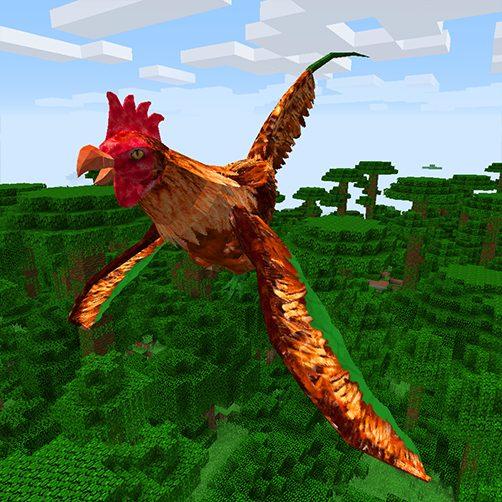 Cockatrice dragon Lycanites Mobs