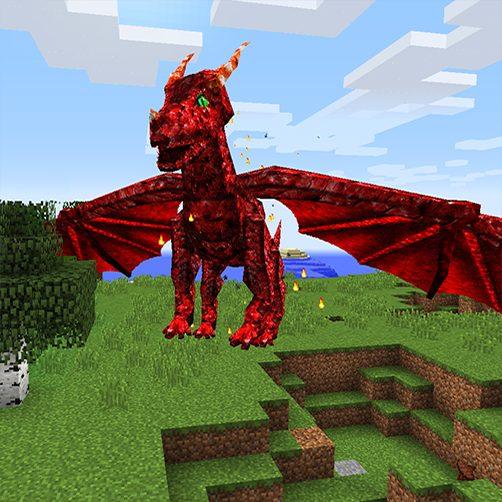Ignibus dragon Lycanites Mobs