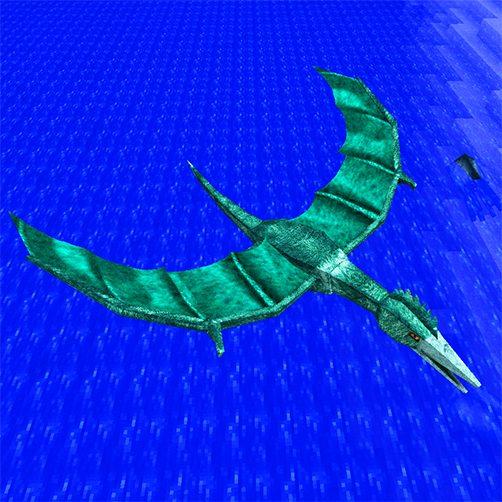 Quetzodracl dragon Lycanites Mobs