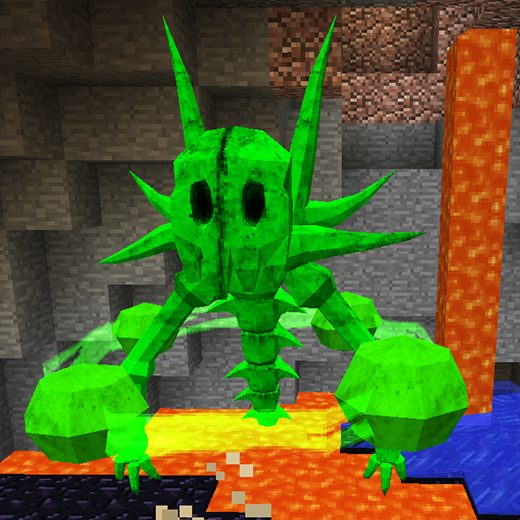 Xaphans créature élémentaire Lycanites Mobs