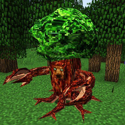 Ents créature végétale Lycanites Mobs