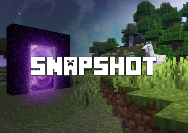 snapshot minecraft