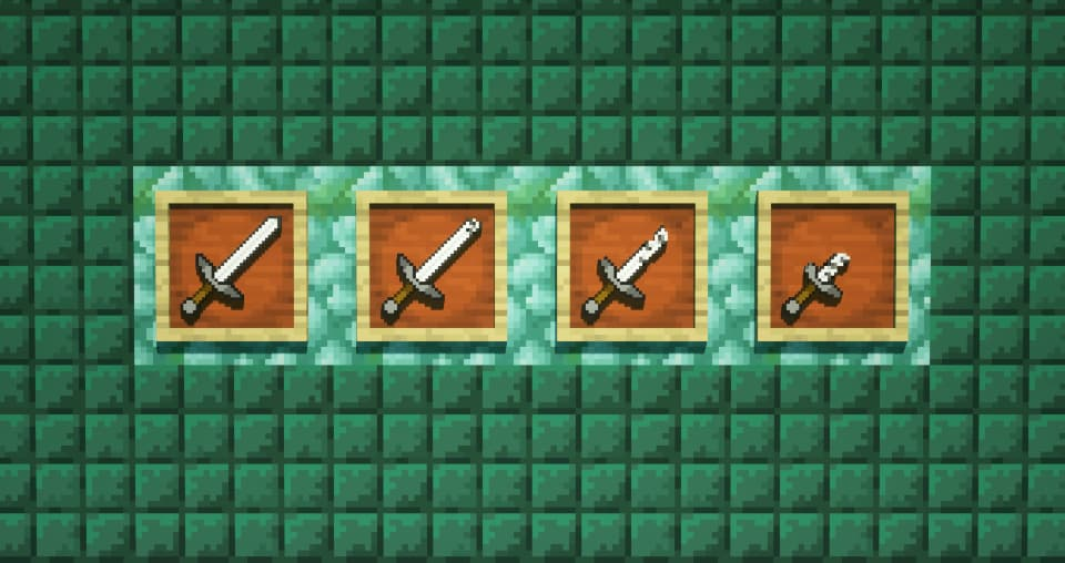 Broken items faithful minecraft