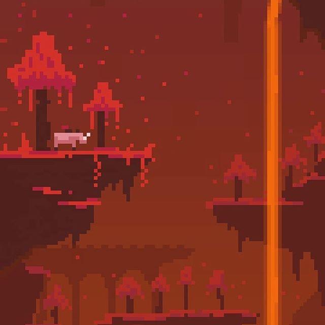 Pixel Art Minecraft : Crimson Forest