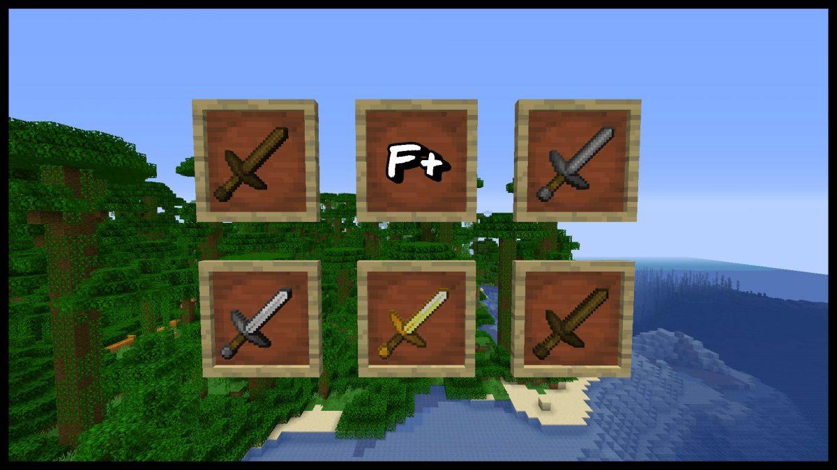 The F+ : les épées