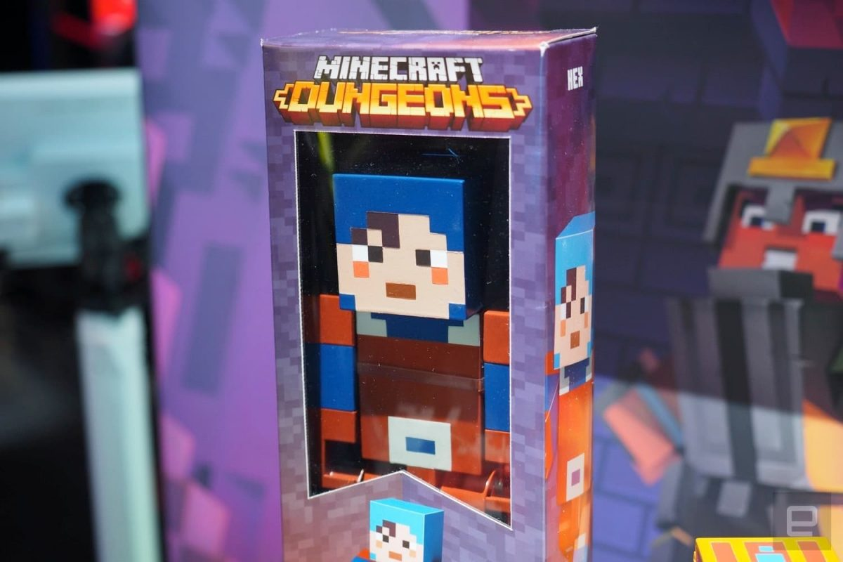 Mini figurines Minecraft Dungeons Boite