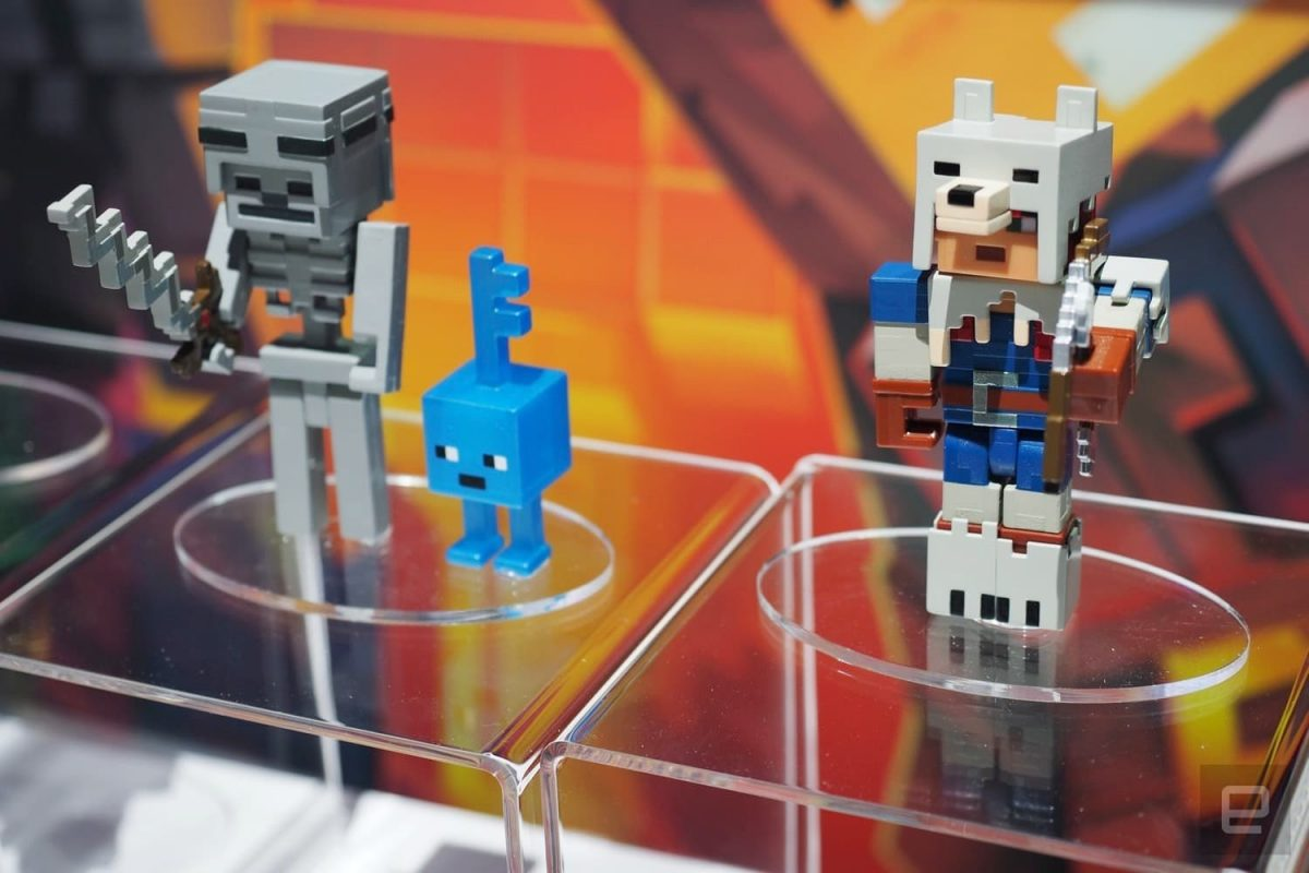 Mini figurines Minecraft Dungeons Soldat