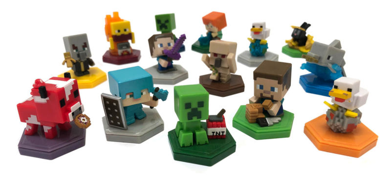 Mini figurines Minecraft Earth creeper