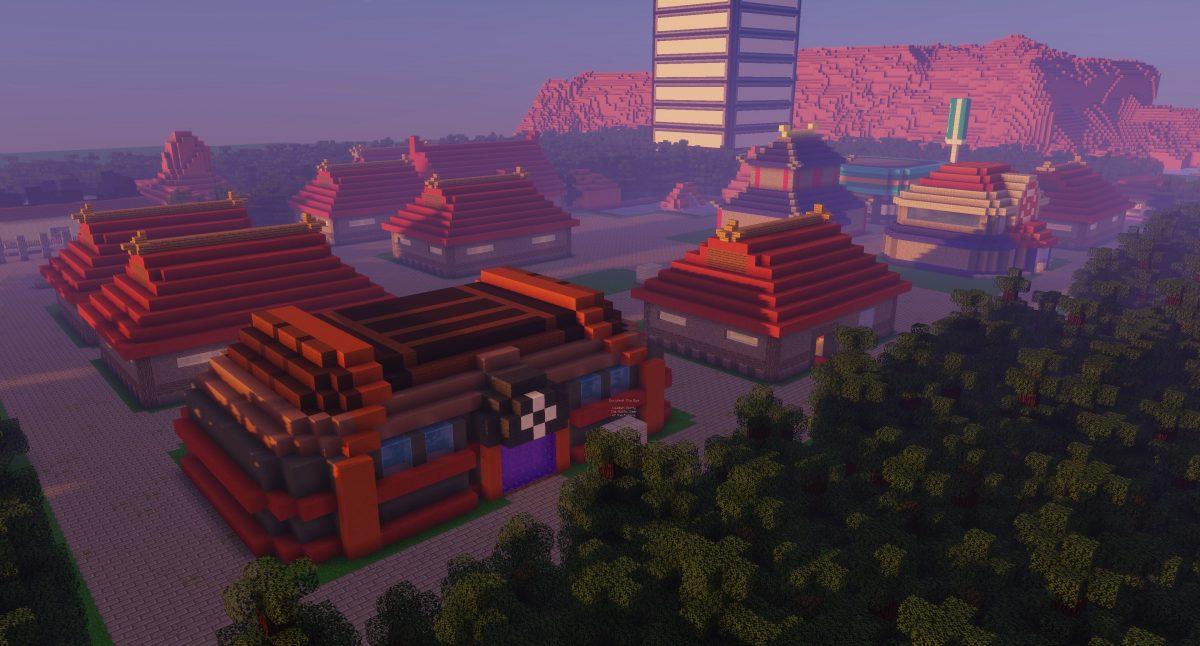 Map Pixelmon : ville de ecruteak