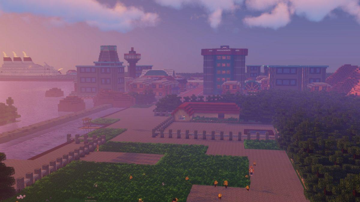 Map Pixelmon : ville de goldenrod