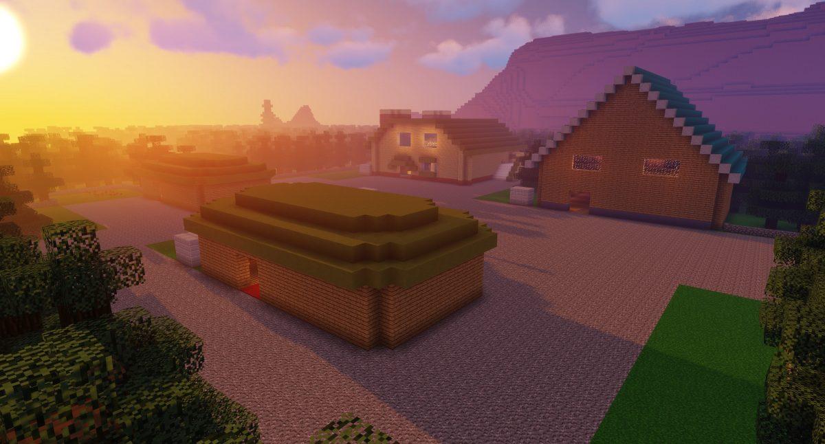 Map Pixelmon : la ville de new bark