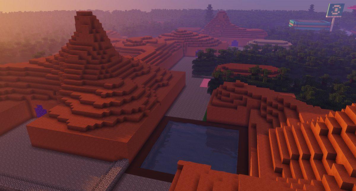 Map Pixelmon : les ruines