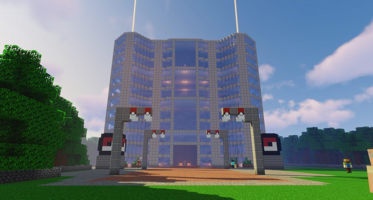 Map Pixelmon : la tour de combats