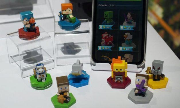 Mattel va produire des Mini-Figurines Minecraft NFC pour Minecraft Earth