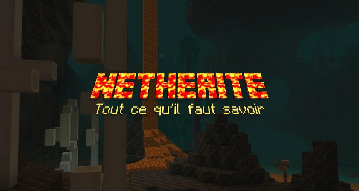 Netherite Minecraft