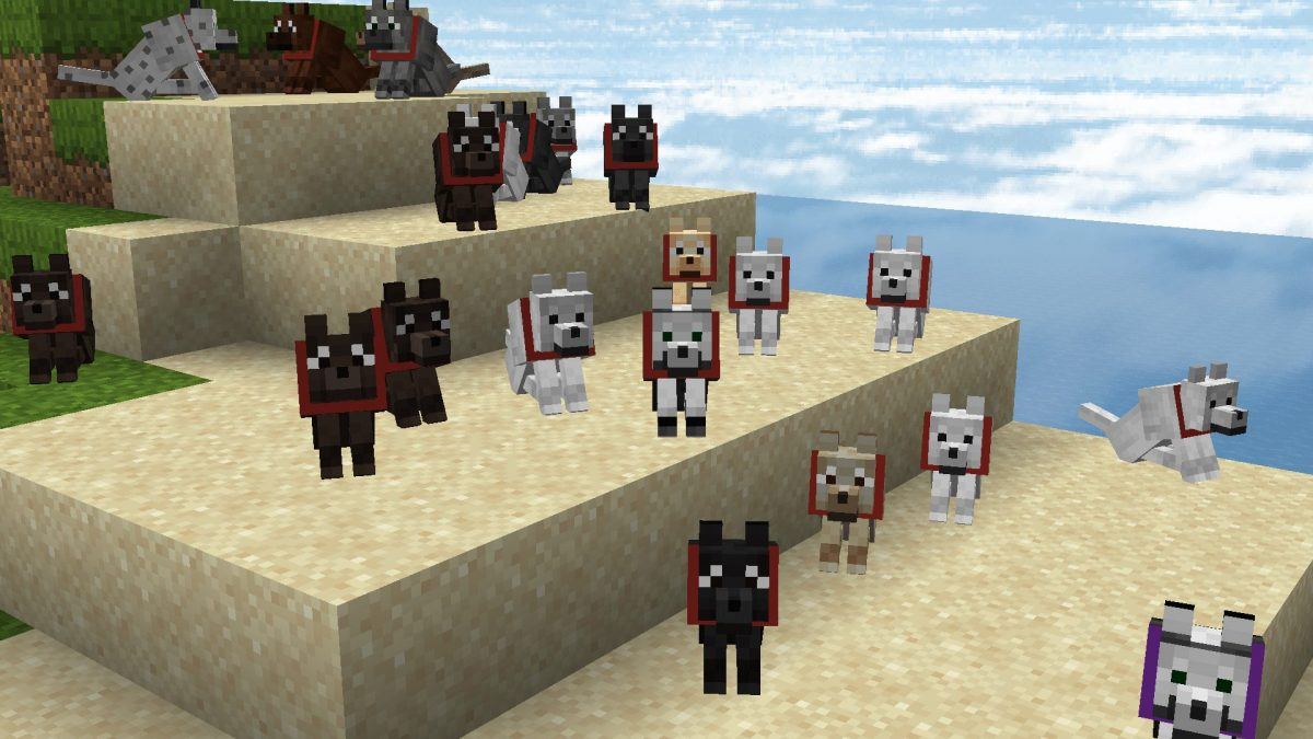 New Default + : différents style pour les chiens