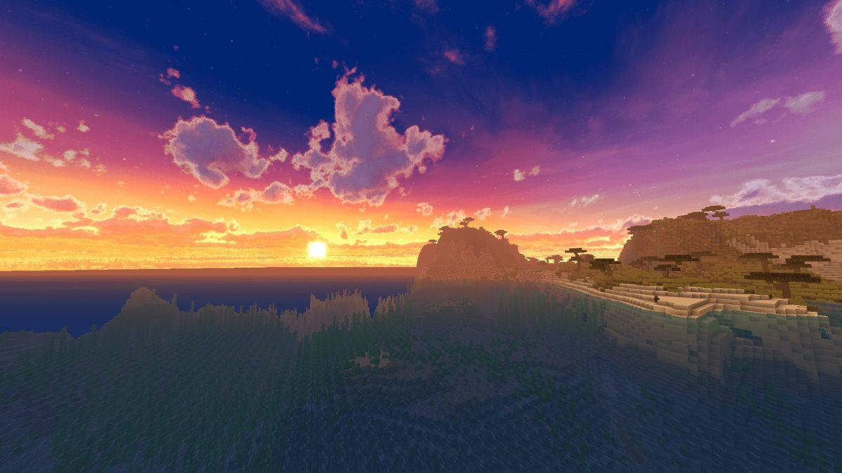 New Default + : levé de soleil