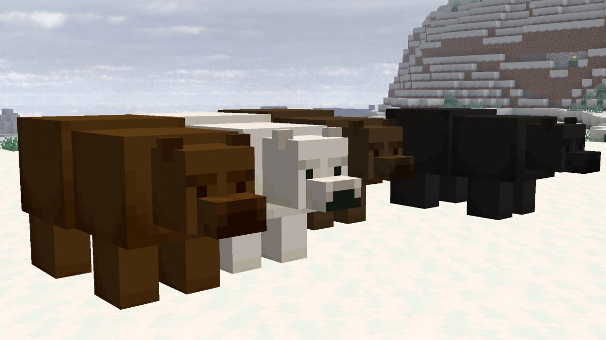 New Default + : différents style pour les ours