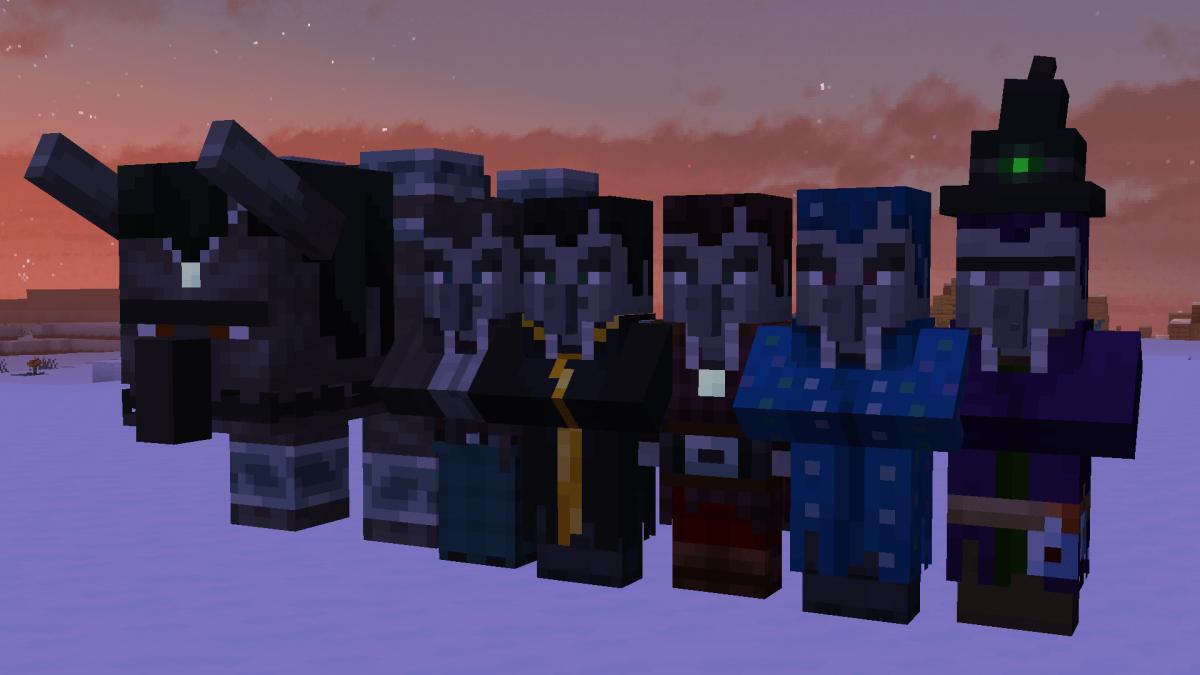 New Default + : autres styles de villageois